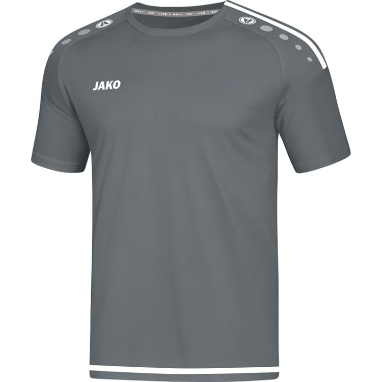 cb7eb0db70 Sportmez/póló Striker Gyerek 2.0 RU - Szürke-fehér / JAKO Sport / JAKO  Sport Magyarország