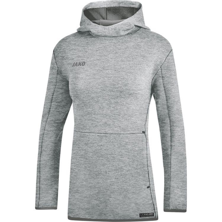 5a5574ba00 Kapucnis pulóver Premium Basics Női - Szürke melírozott / JAKO Sport / JAKO  Sport Magyarország